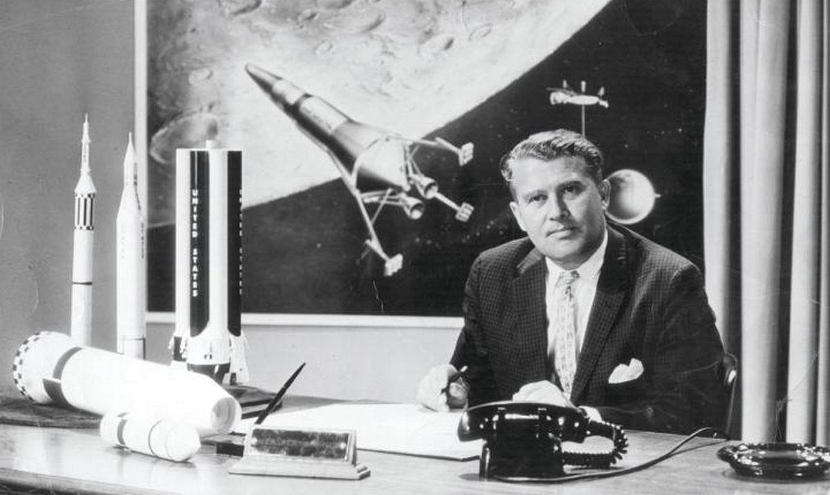 Wernher von Braun: Celował w gwiazdy, a trafiał w Londyn - Rzecz o historii  - rp.pl