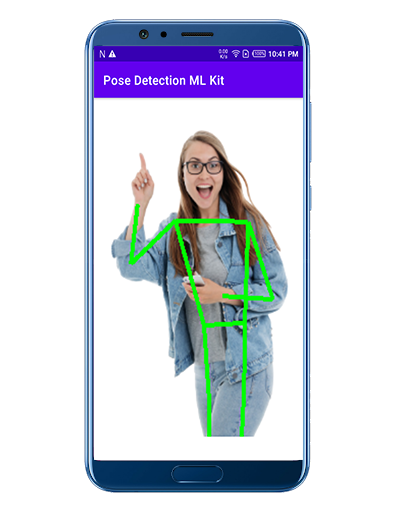 ML Kit's Pose Detection API