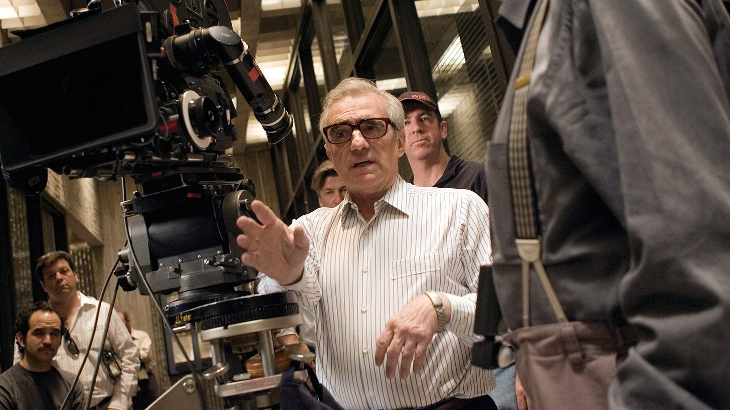 """Review: Jonas Mekas's Illuminating Documentary of Martin Scorsese on the  Set of """"The Departed""""   The New Yorker"""