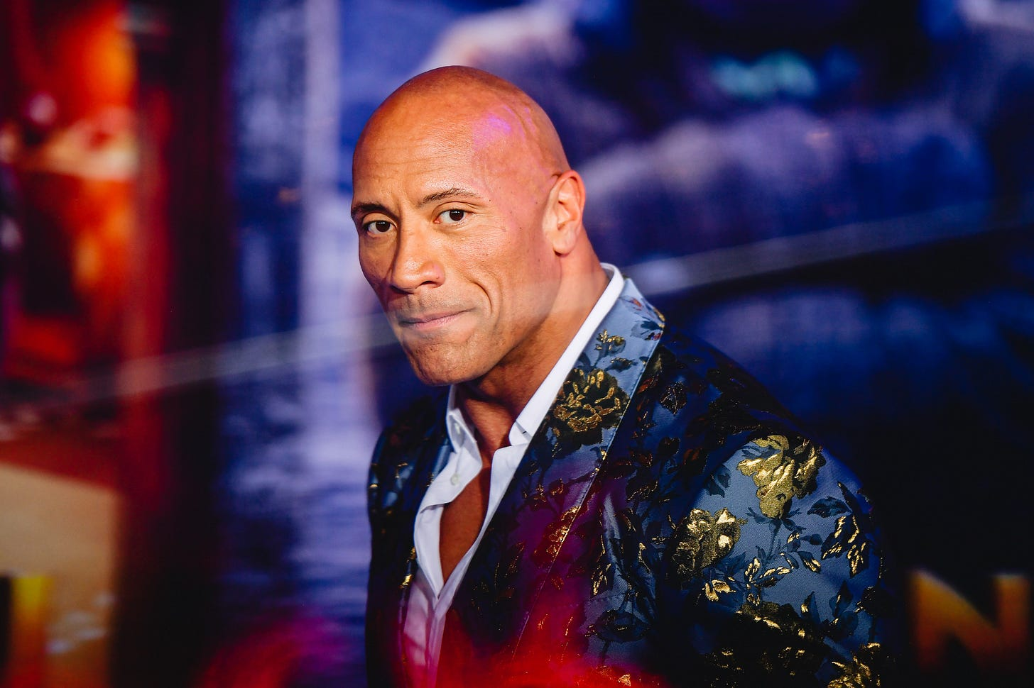 """Dwayne Johnson attends the premiere of Sony Pictures' """"Jumanji: The Next Level"""" on December 9, 2019."""