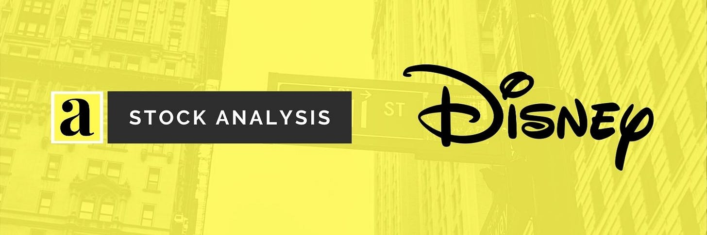 Disney Stock Analysis q1 2021