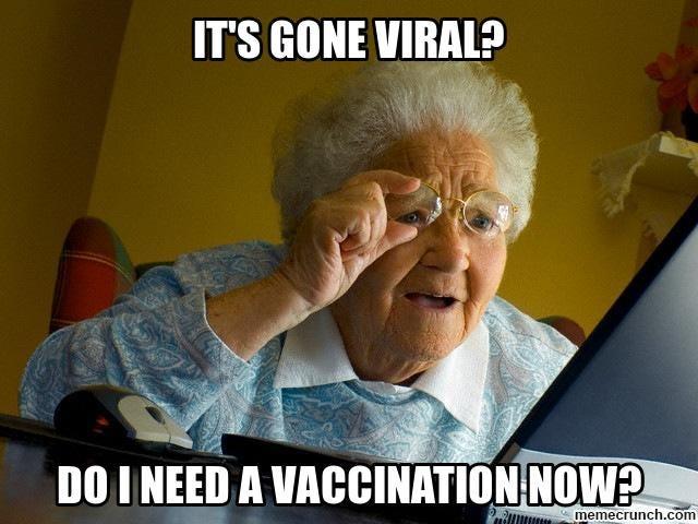 it's gone viral?