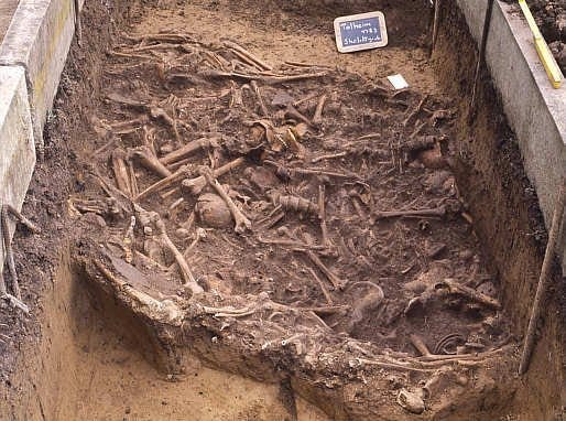 Eerie Talheim death pit reveals 'first war crime' where fleeing villagers  were slaughtered by axe-wielding invaders 7,000 years ago