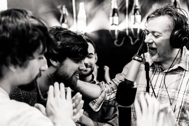 Lorenzo Palloni, Martoz, Francesco Guarnaccia e Tito Faraci ai microfoni di Tizzoni d'inferno #70