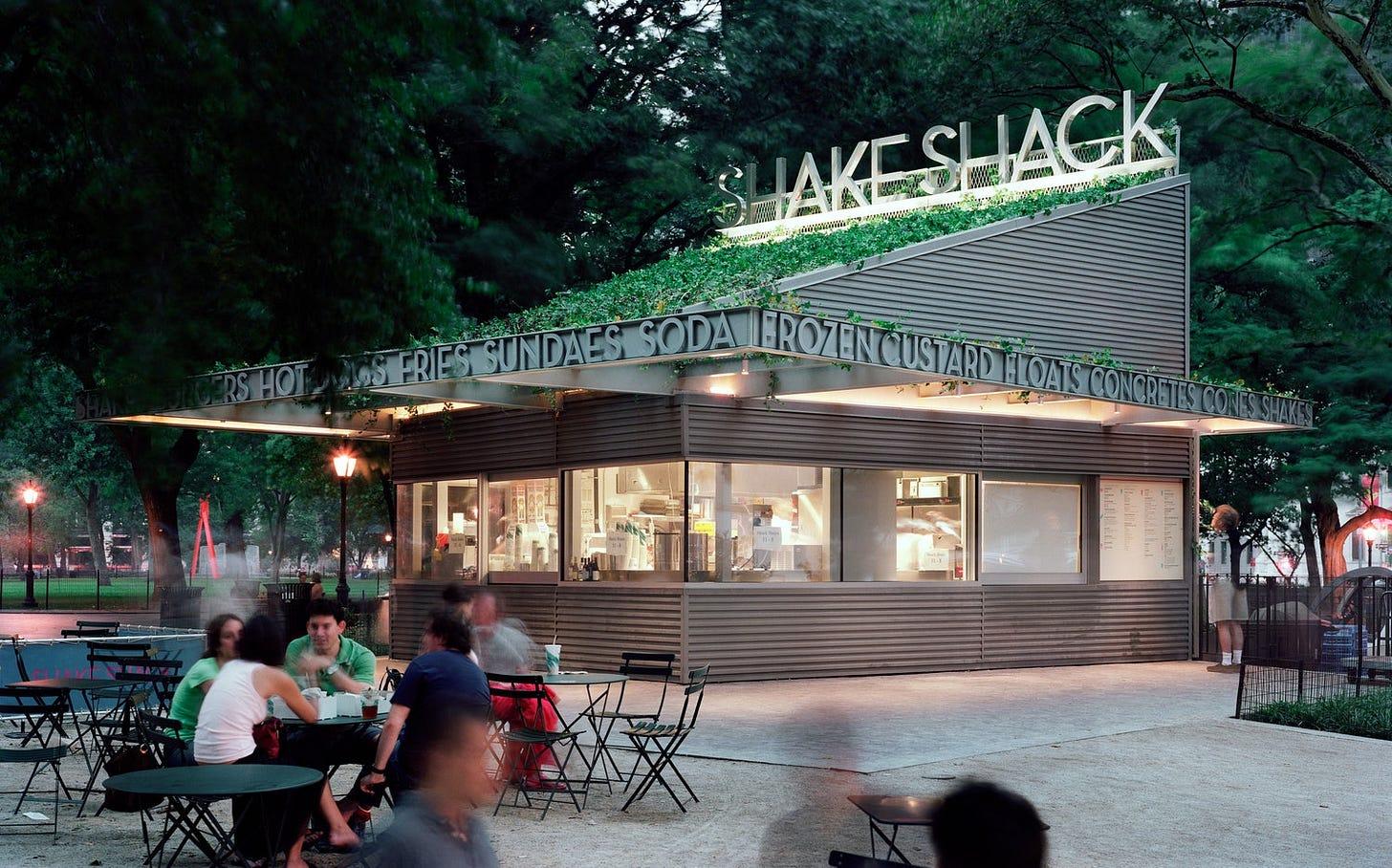 Primer Shake Shack en New York