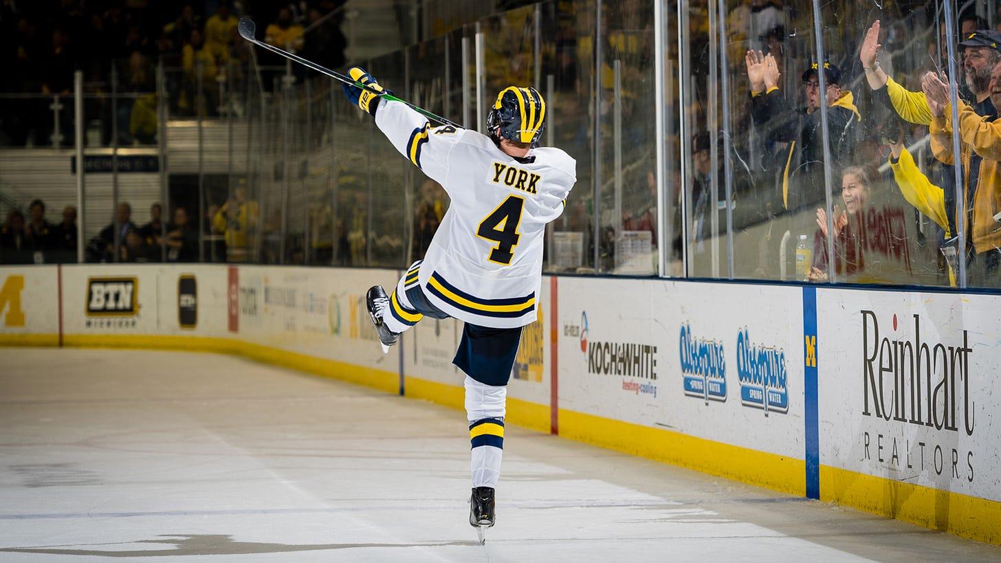 Cam York - Ice Hockey - University of Michigan Athletics