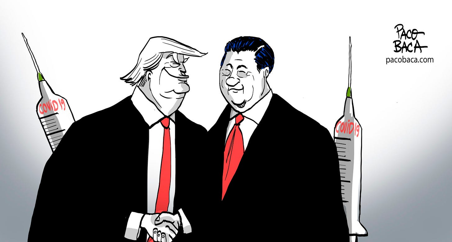 Two Businessmen - Toons Mag