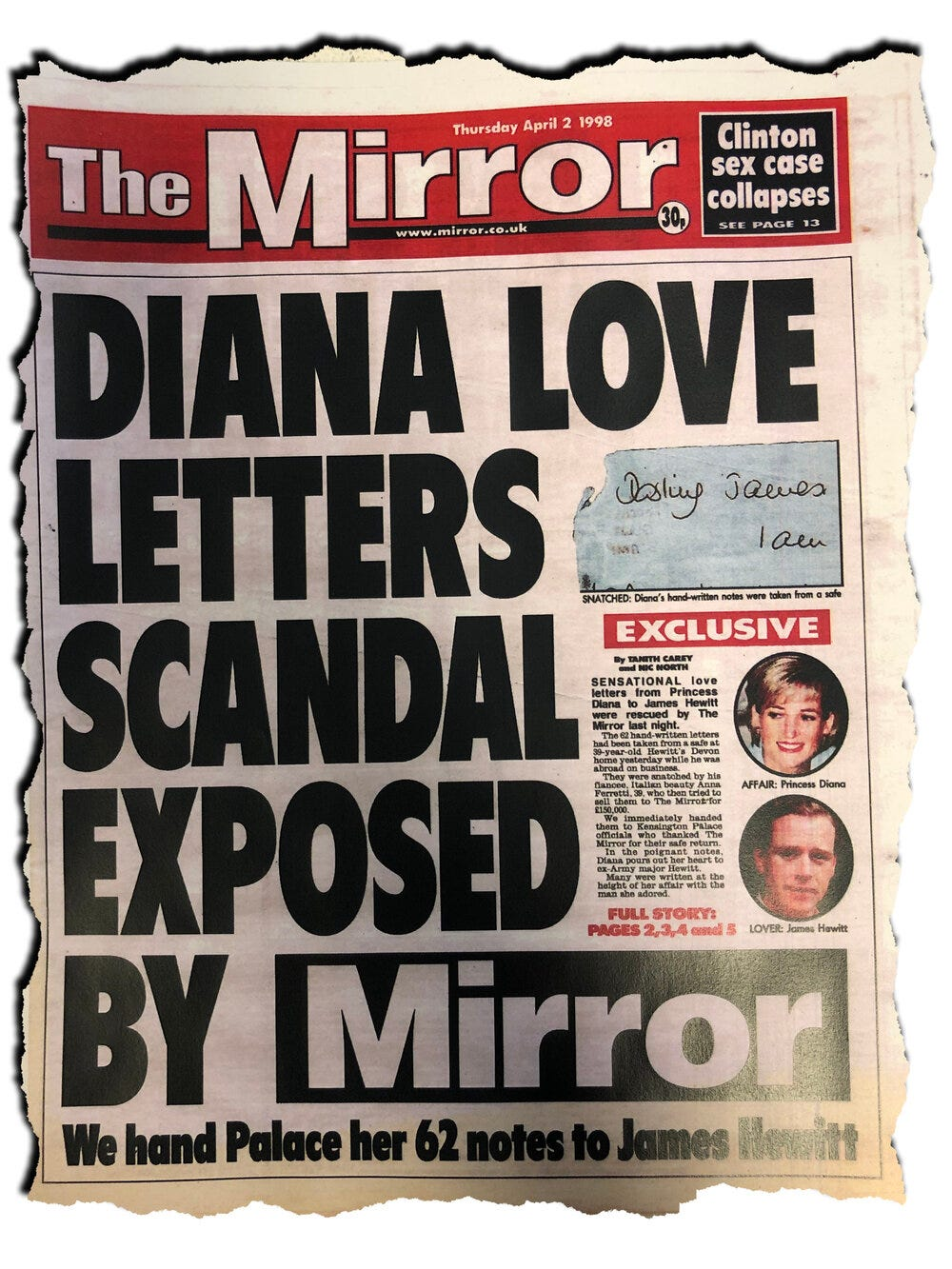 EXCLUSIVE: Piers Morgan Named in New Court Docs Over 'Theft of Princess  Diana Letters' – Byline Investigates