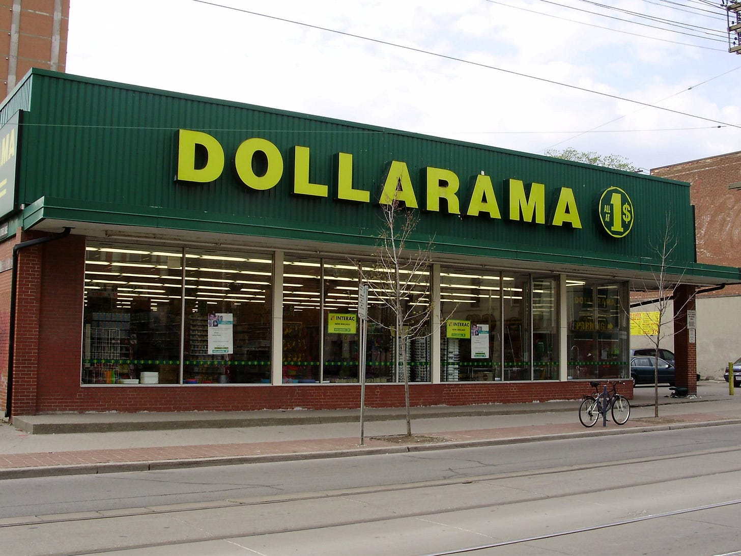 Dollarama's costs are going up   David McKie