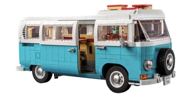 Volkswagen T2 Camper Van LEGO set