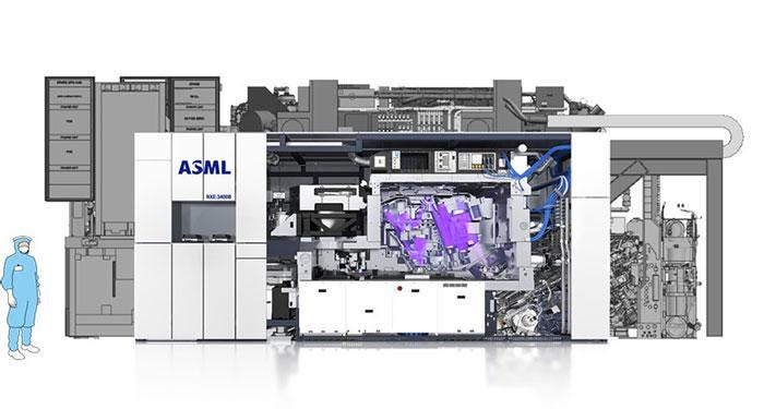 ASML supplier is caught in a fire and delivery of EUV lithography machines  will be delayed early next year.