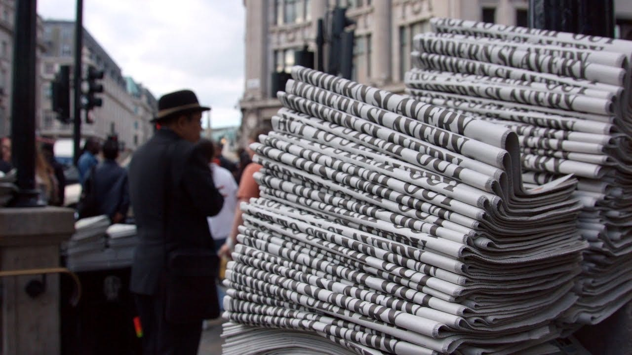 Building Fleet Street: The Golden Age of Newspapers - YouTube