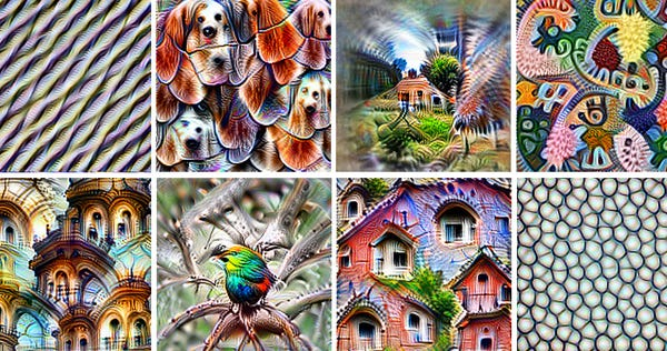 Feature Visualization: How Neural Networks Build Up Their Understanding of Images