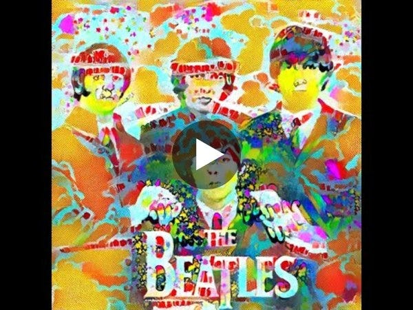 An album in the style of The Beatles, generated by OpenAI Jukebox