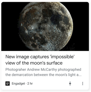Images in Google Discover