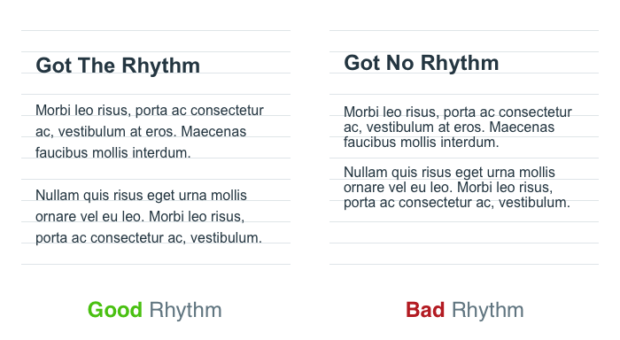 8-Point Grid: Vertical Rhythm. The 8-point grid is a powerful system… | by  Elliot Dahl | Built to Adapt