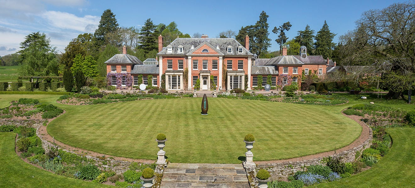 The magnificent Georgian house that stands in a blissfully secluded corner  of Herefordshire - Country Life