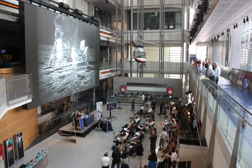 Apollo 11 Video Restoration Press Conference / Newseum