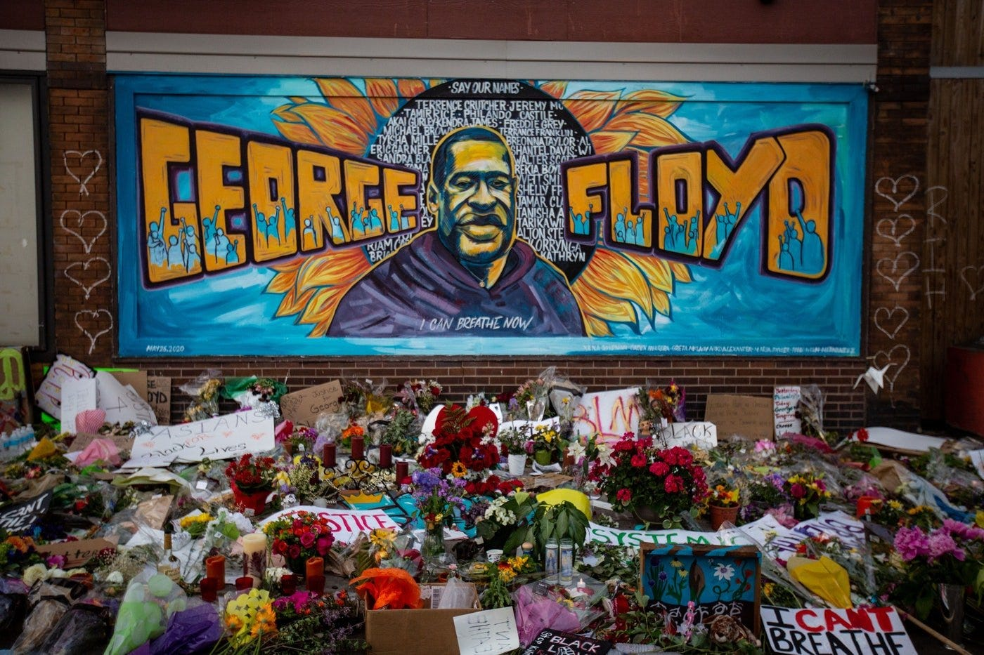 The Righteous Power of the George Floyd Mural | The New Republic