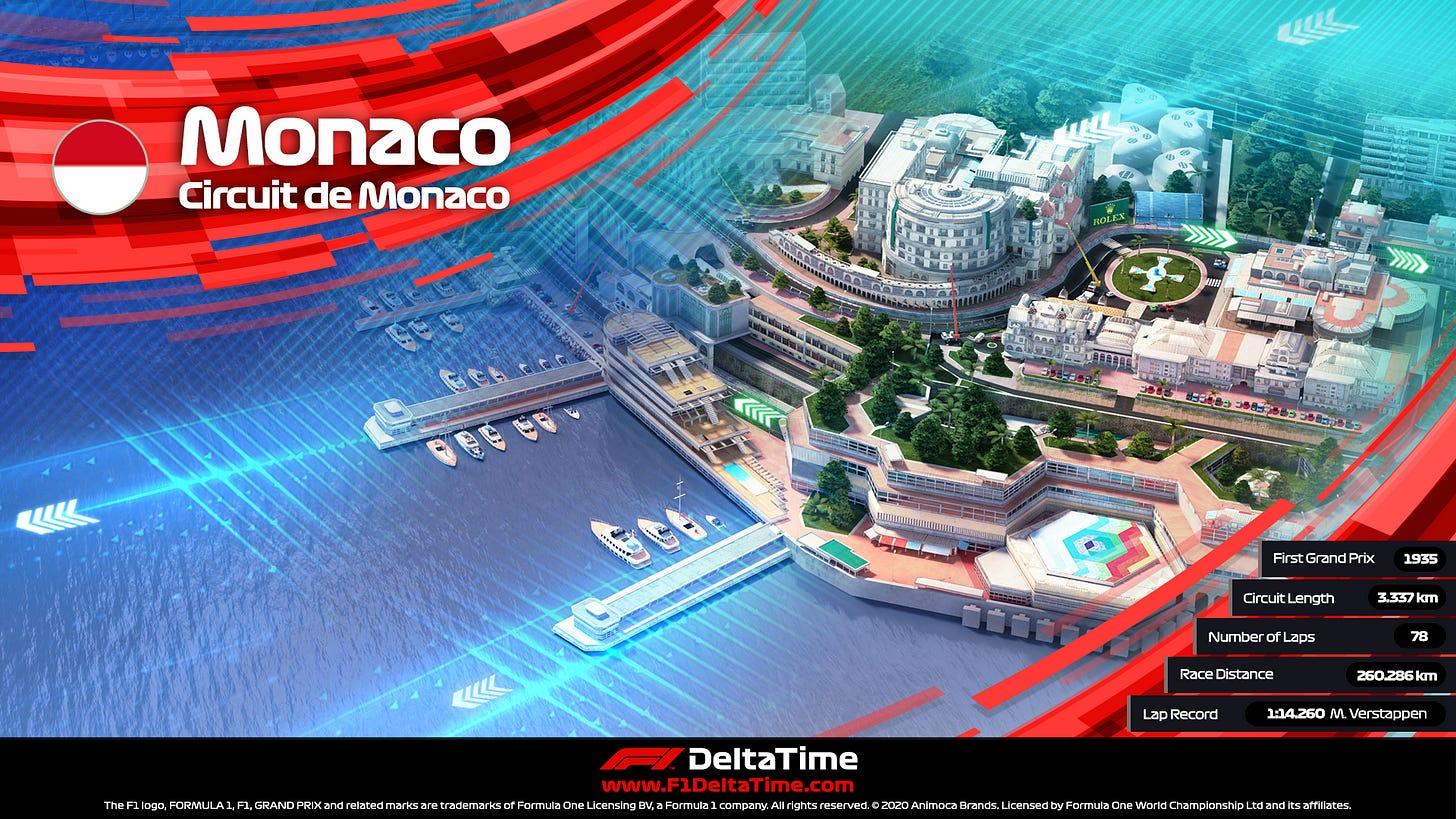 F1 Delta Time's Circuit de Monaco NFT auctioned for ~US$223,000