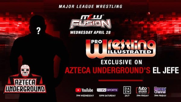 PWI Exclusive on Azteca Underground, Featured MLW Fusion