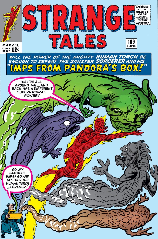 Strange Tales Vol 1 109 | Marvel Database | Fandom