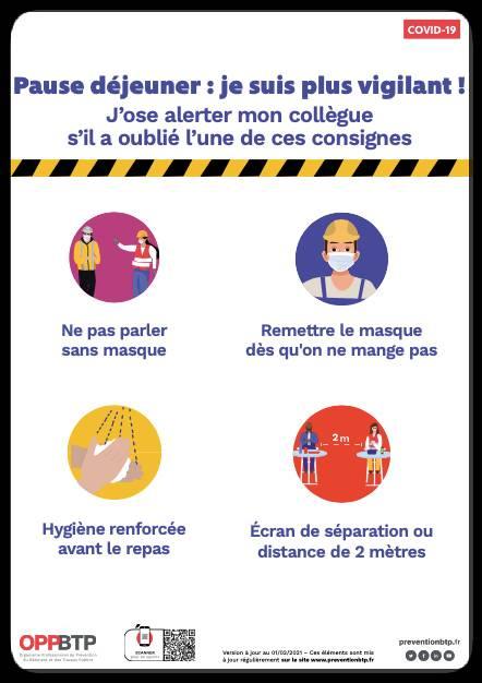 Affiche consignes de sécurité