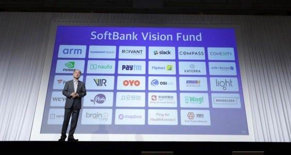 Başlıca Vision Fund Yatırımları