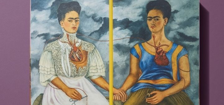 Two Frida Kahlo self-portraits
