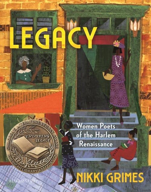 Legacy: Women Poets of the Harlem Renaissance
