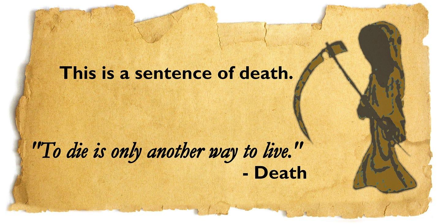 sentence of Death