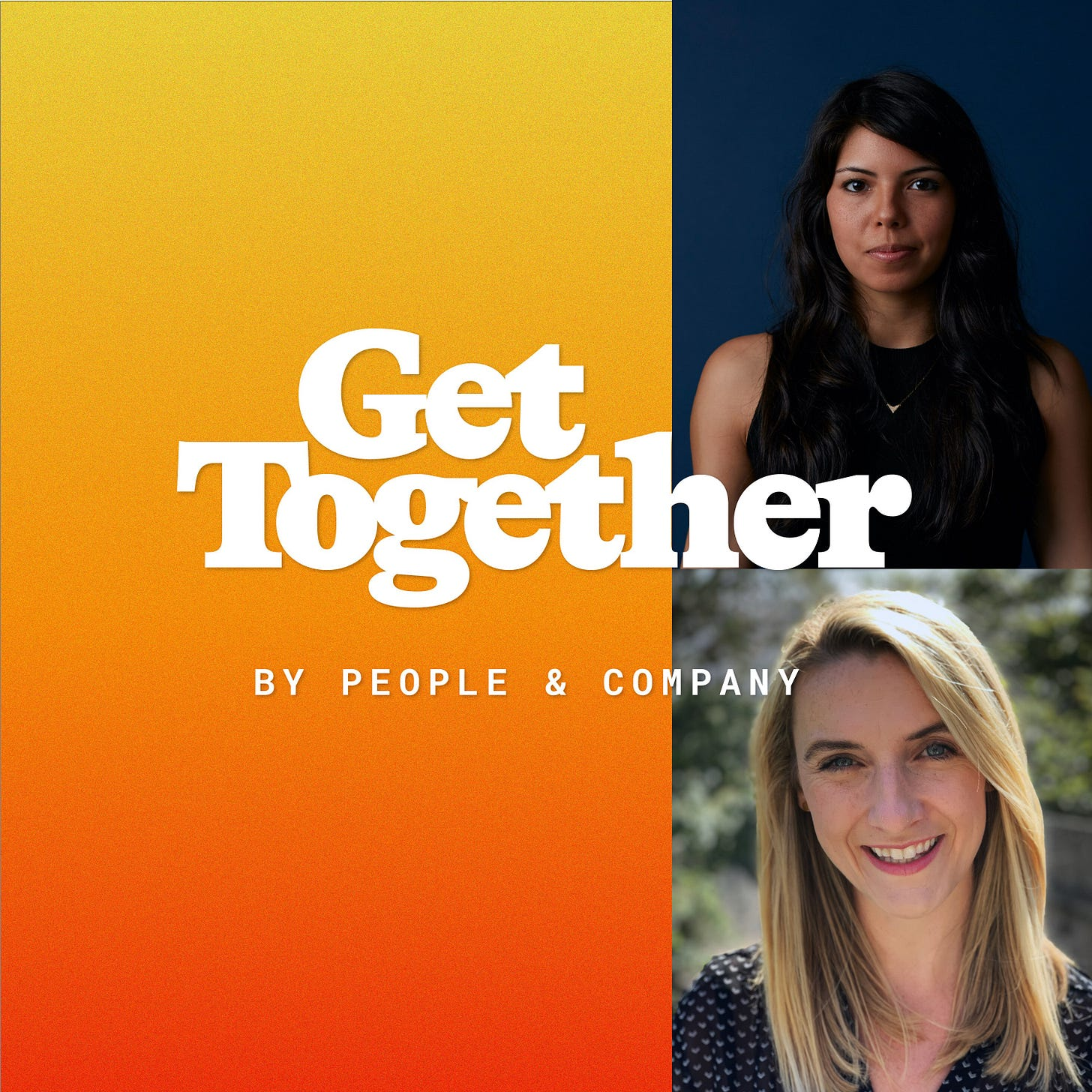 Writers helping writers 📬 Fiona Monga & Nadia Eghbal, Substack | Get  Together