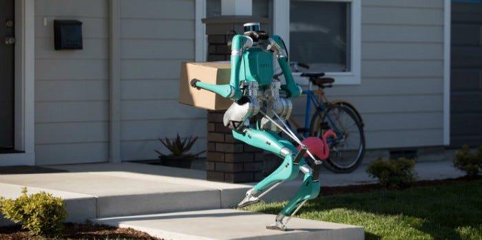 Робот-грузчик Digit