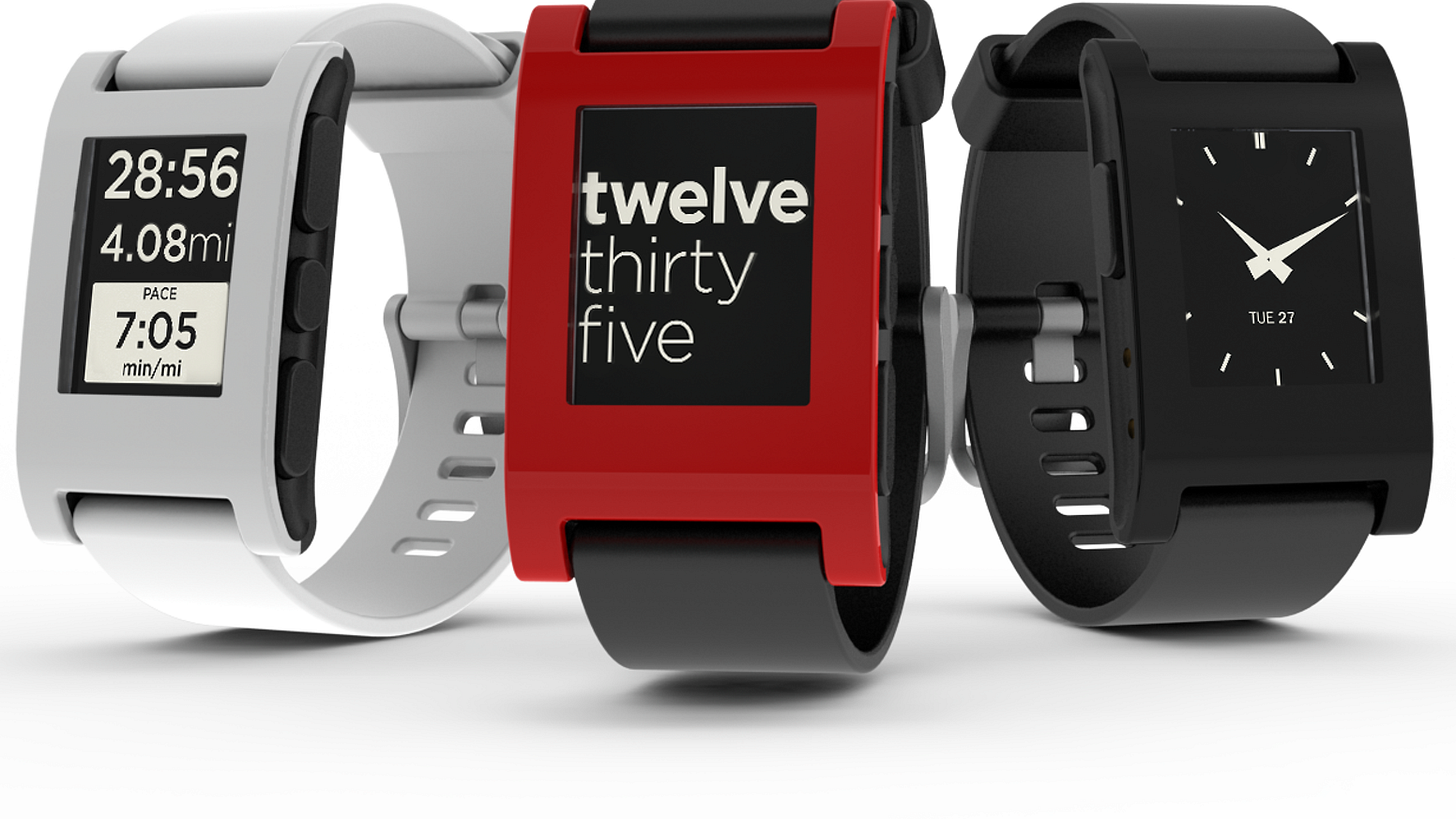 Pebble is a customizable watch. Download new watchfaces, use sports and fitness apps, get notifications from your phone.