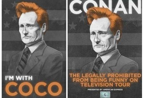 Conan O'Brien's Magic Touch Makes 'I'm With Coco' Guy Rich