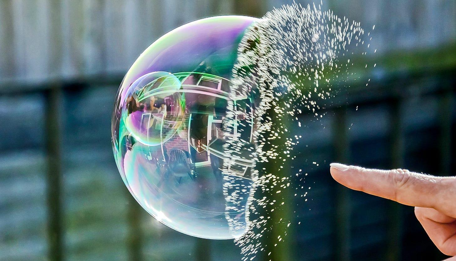 Watch a bubble pop like a blooming flower - Futurity