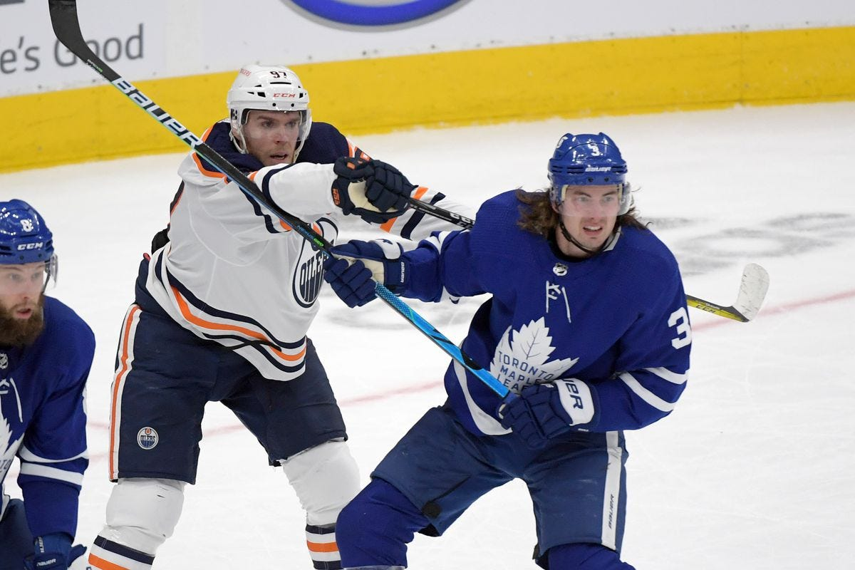 Toronto Maple Leafs lose 3-2 in overtime to the Edmonton Oilers - Pension  Plan Puppets