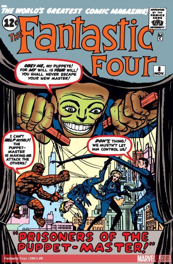 Fantastic Four (1961) #8   Comic Issues   Marvel