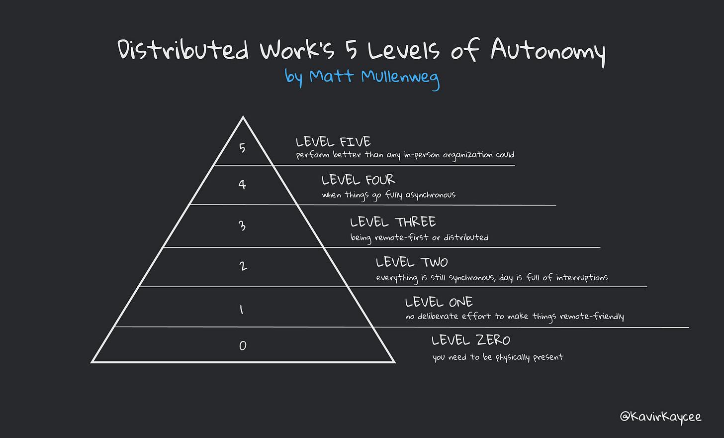 Remote Work Levels