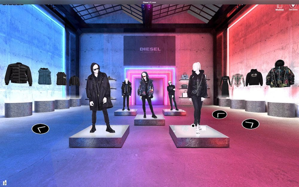 Diesel and parent company OTB are putting their own spin on digital showrooms with a new virtual buying platform dubbed Hyperoom.