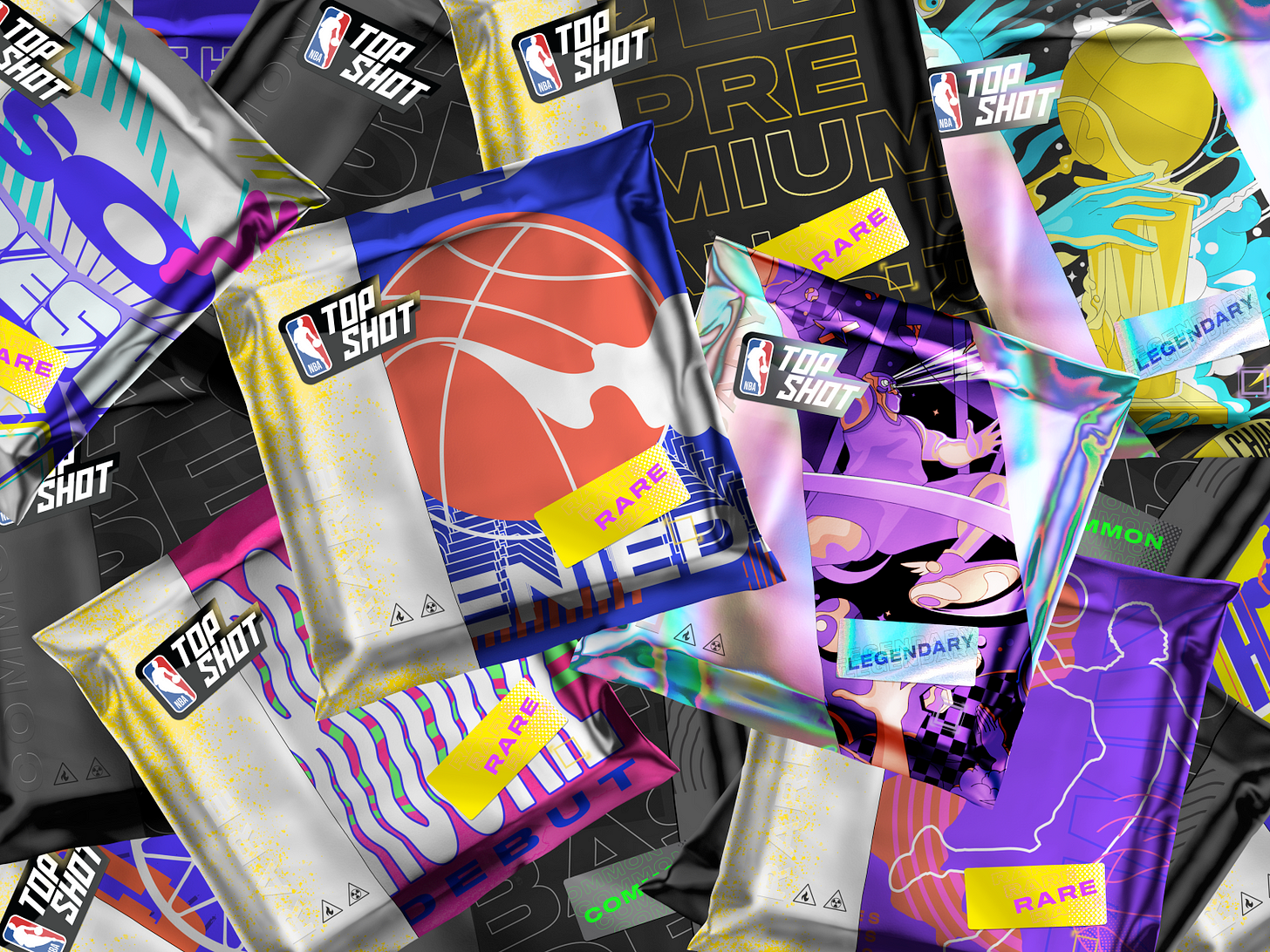 NBA Top Shot - Packs by Dapper Labs on Dribbble