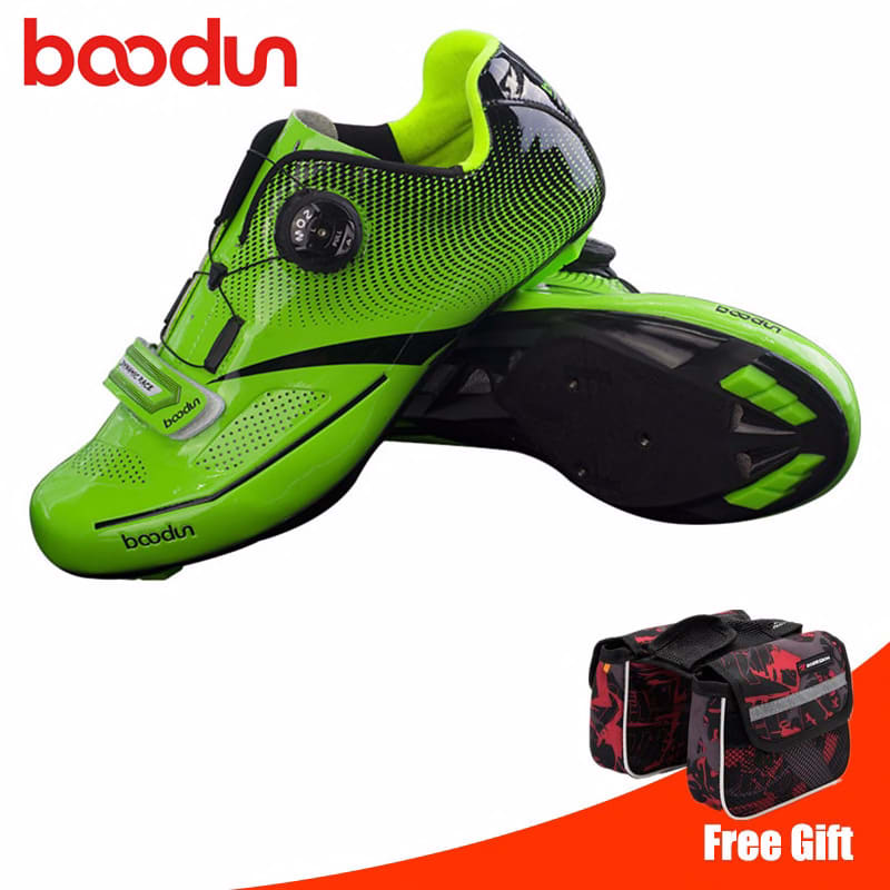 BOODUN Road Cycling Shoes men sneakers sapatilha ciclismo Racing Sports Bicycle Professional Lightweight Highway bike shoes