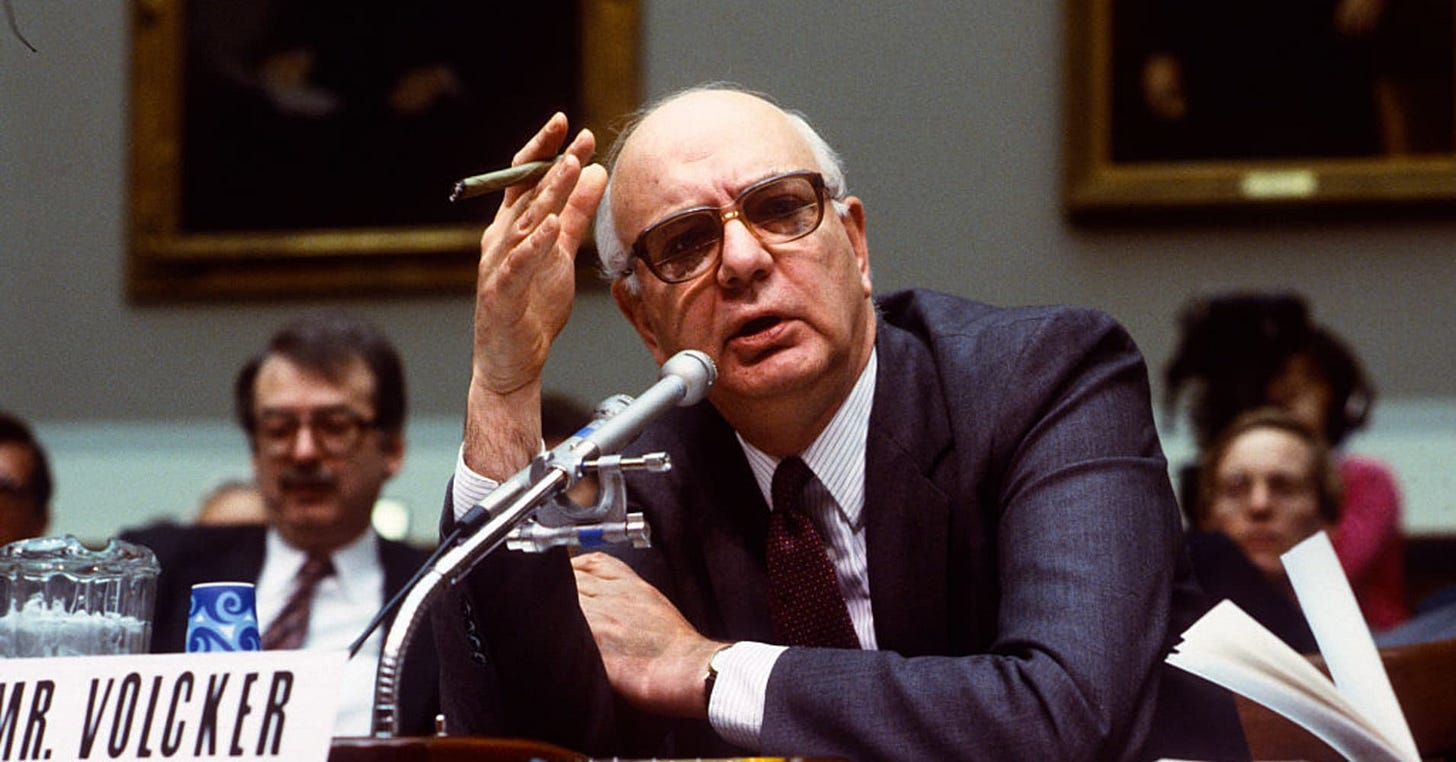 Paul Volcker, Carter-Reagan Fed chairman who beat inflation, dies ...