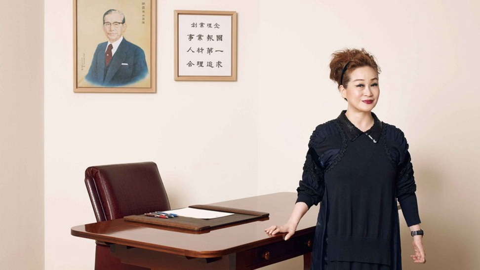 Miky Lee is the granddaughter of Samsung's founder, Lee Byung-chul. Photo: Bloomberg