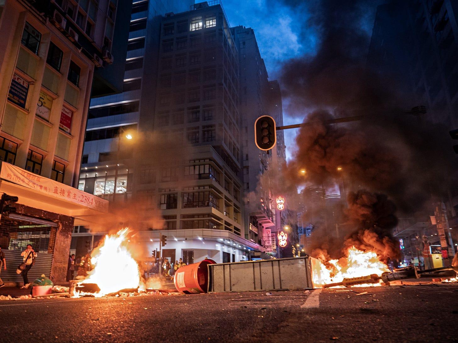 Hong Kong Anti-extradition Bill Protest, September 15th