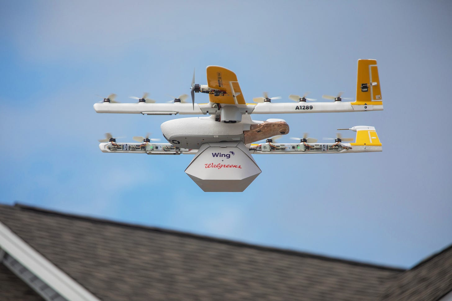 Wing drone delivery 3