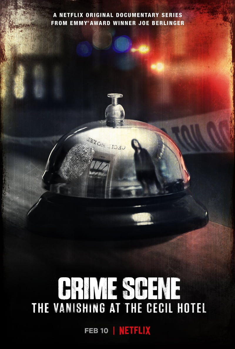 Crime Scene: The Vanishing at the Cecil Hotel | Review ...