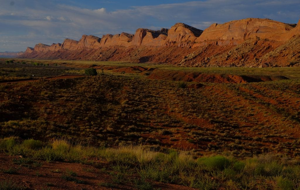 (Leah Hogsten | Tribune file photo) Comb Ridge in Bears Ears National Monument is seen in this file photo. President Joe Biden has initiated a 60-day review of Bears Ears and also of the Grand Staircase-Escalante National Monument. Former President Donald Trump slashed the size of both monuments and Biden is considering enlarging them.