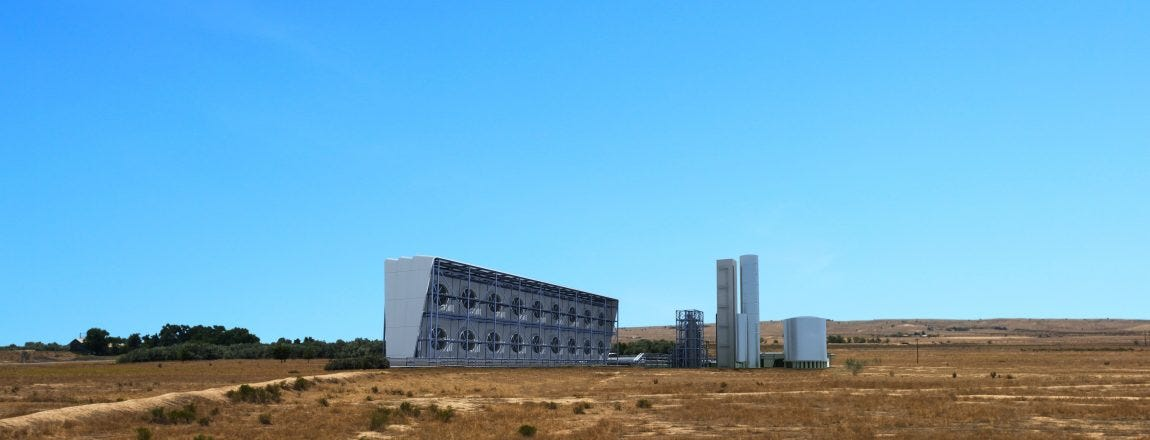 Engineering of world's largest Direct Air Capture plant begins