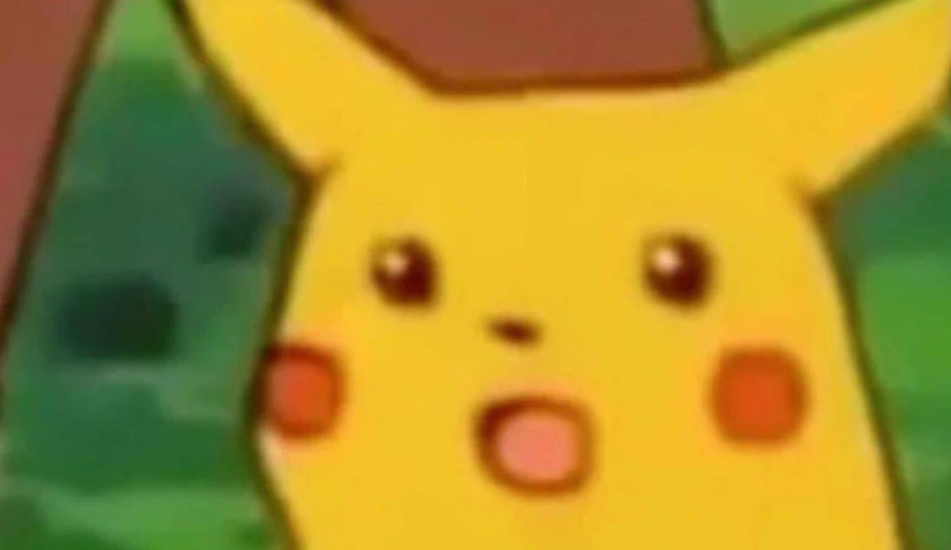 Surprised Pikachu | Know Your Meme